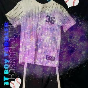 3T boy baseball outfit ⚾🎁